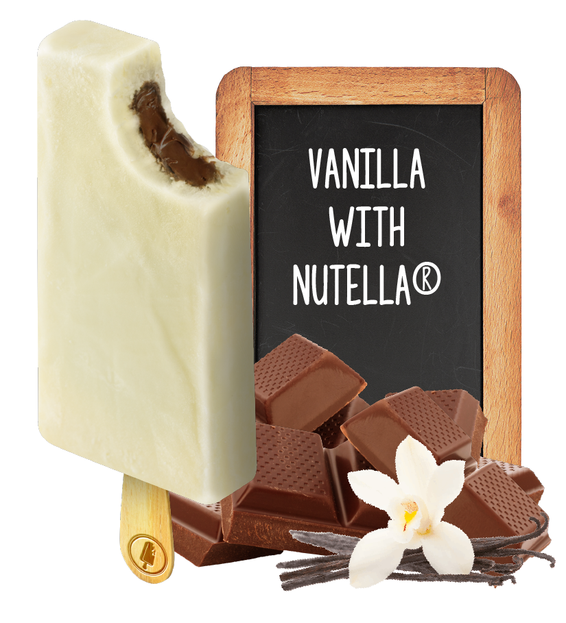 Vanilla With Nutella Paleteria Original